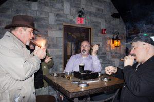 Cigar tasting