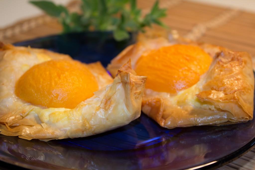 low-carb Apricot Danish