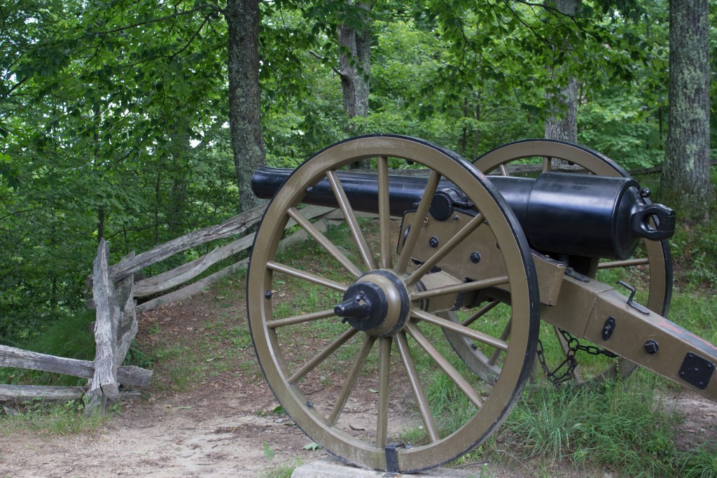 Fort Lyons cannon, Civil War era in the Cumberland Gap