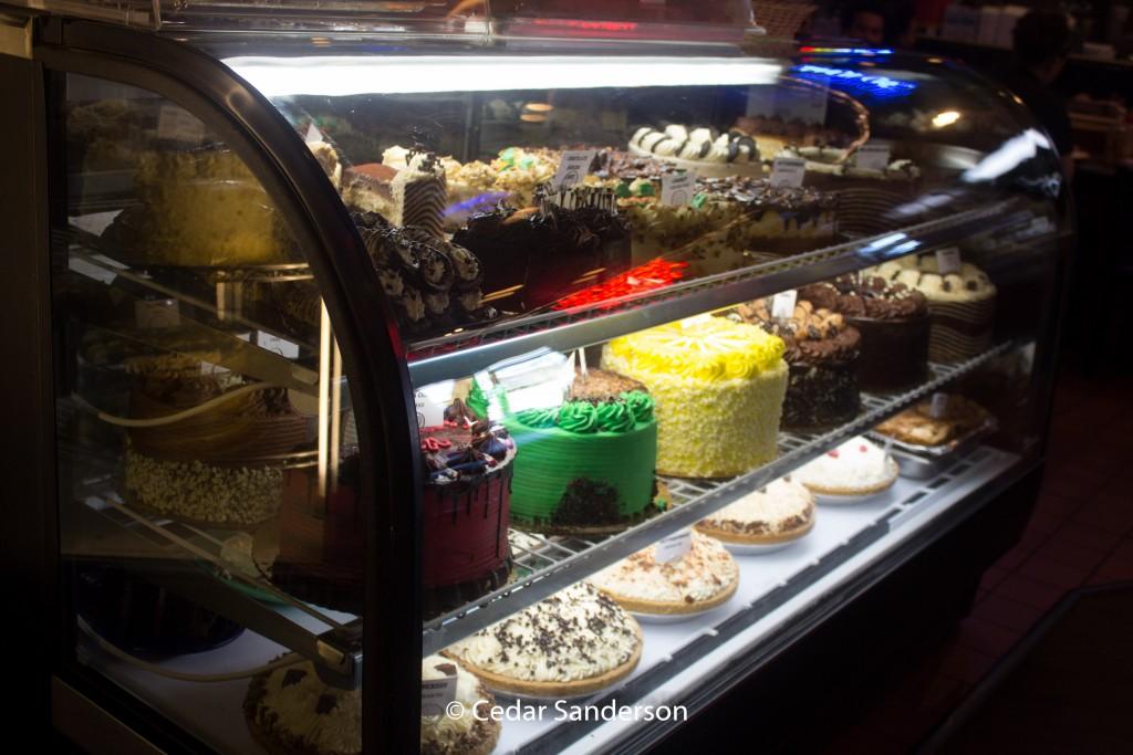 City Café desserts!