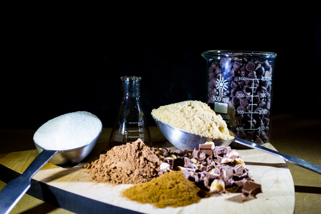 chocolate, expresso powder