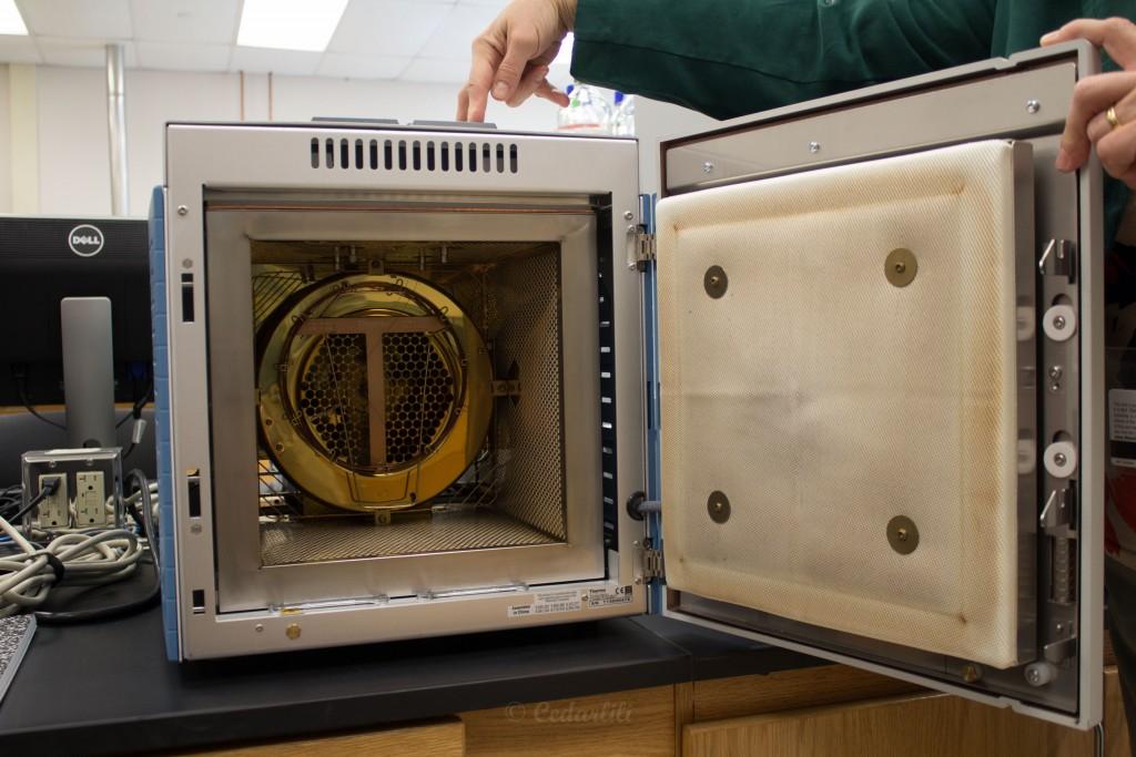 Gas Chromatograph oven