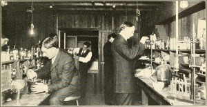 Chemists ca 1912