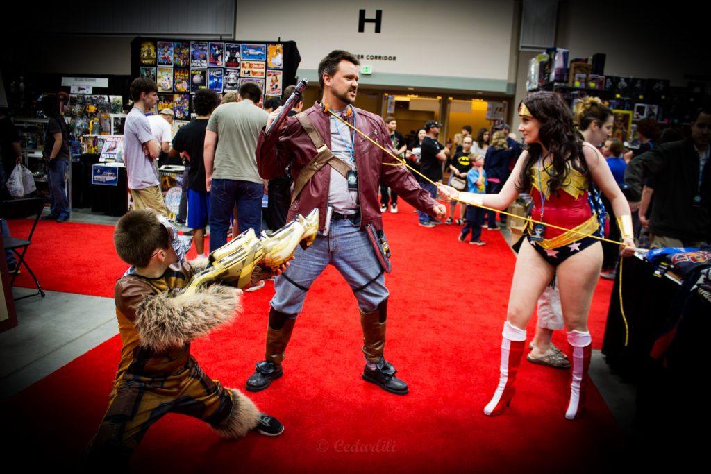 cosplay Indiana ComicCon