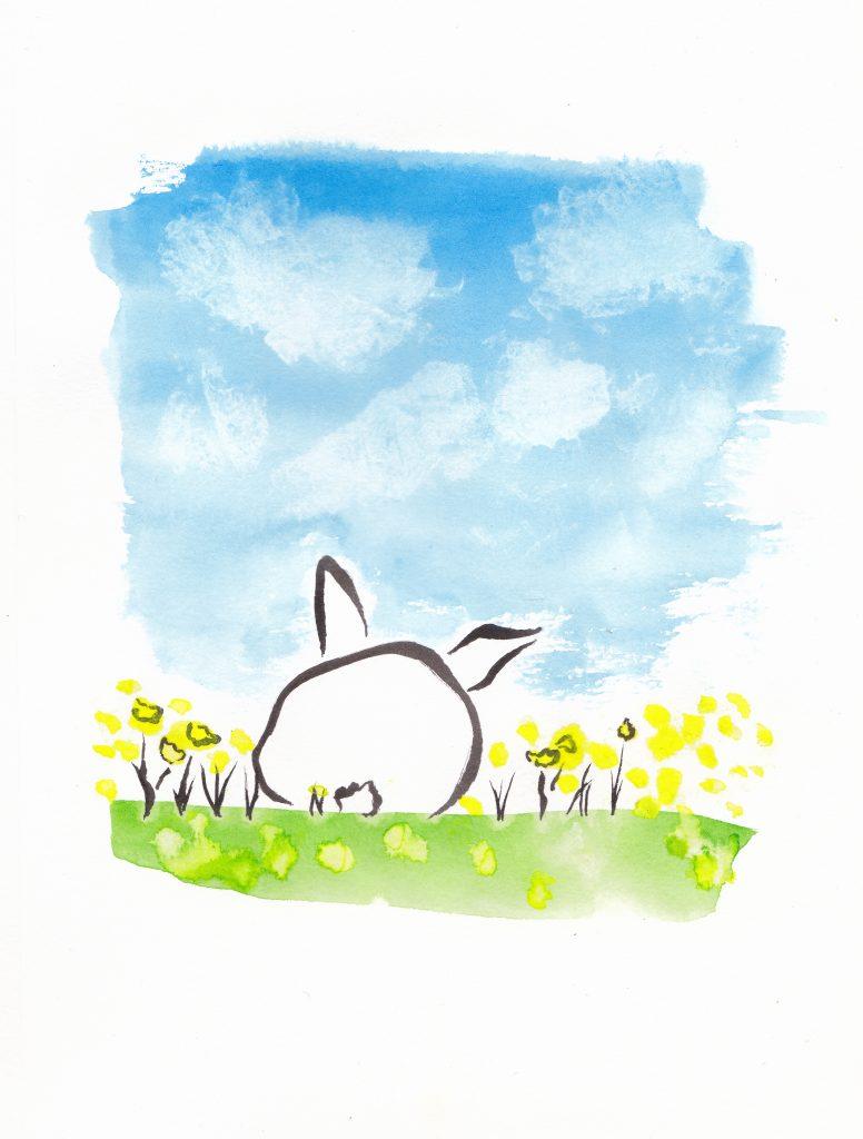 Dandelion Bunny_