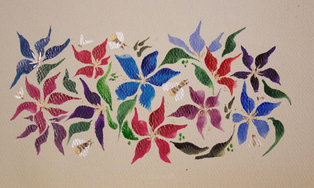 Garden painting-1