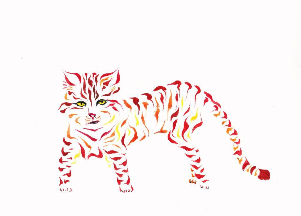 Lava Cat