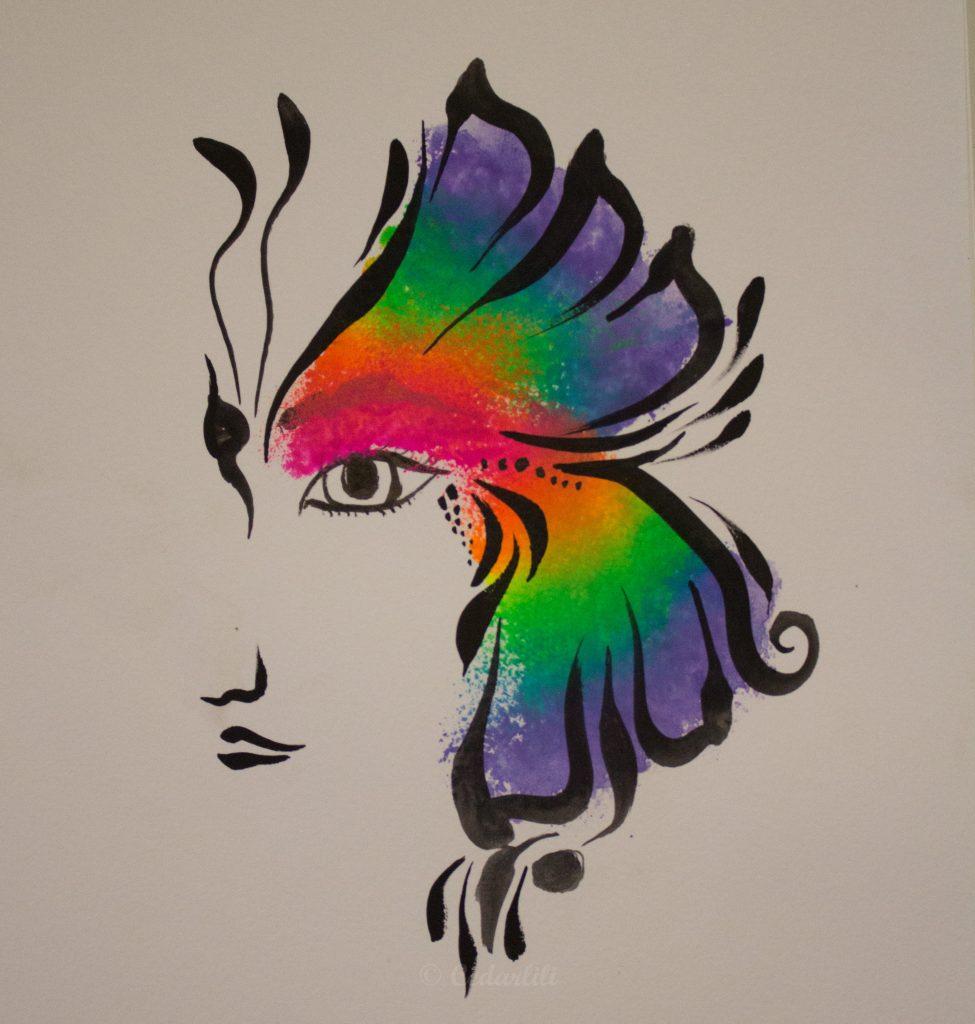 Rainbow Butterfly_
